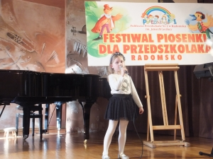 XXII Festiwal Piosenki dla Przedszkolaka - nasze piosenkarki